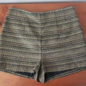 BCBGeneration metallic shorts